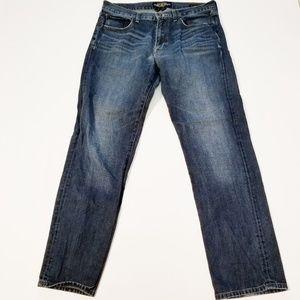 Lucky Brand 221 Original Straight Jeans 34x32
